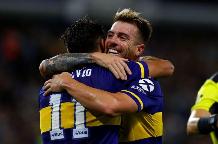 Julio Buffarini volverá a ser titular en el encuentro de Boca ante Caracas por la Copa Libertadores (REUTERS/Agustin Marcarian)