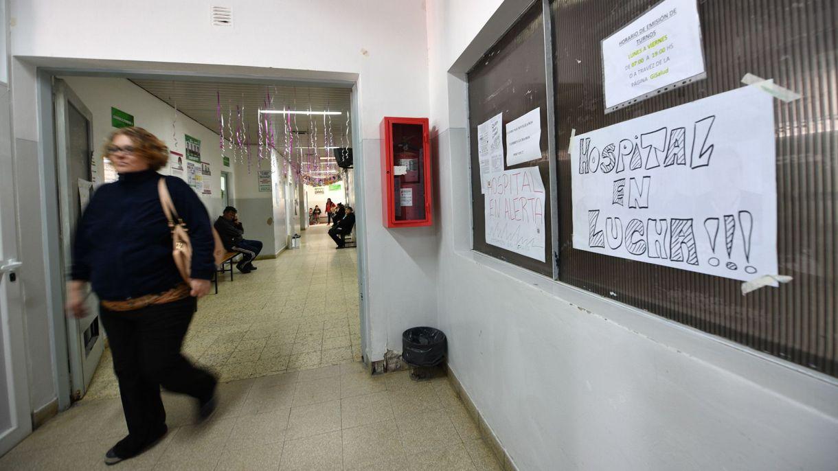 El interior del Hospital Santa Teresita (Maxi Jonas)