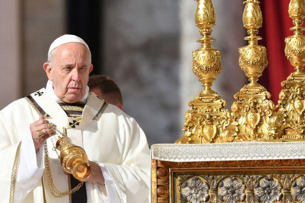 El Papa Francisco anunció que no va a poder venir a la Argentina el próximo año. (Photo by Alberto PIZZOLI / AFP)
