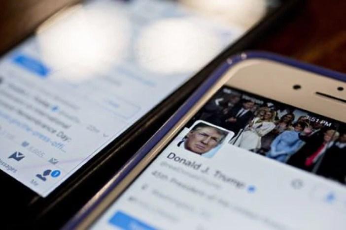 Twitter y Fcaebook, bloquearon las cuentas de Trump