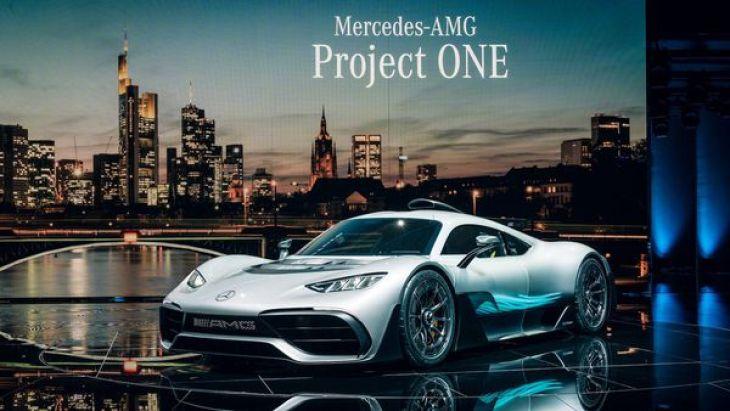 El Mercedes-AMG Project ONE no se convertirá en un modelo de producción en serie
