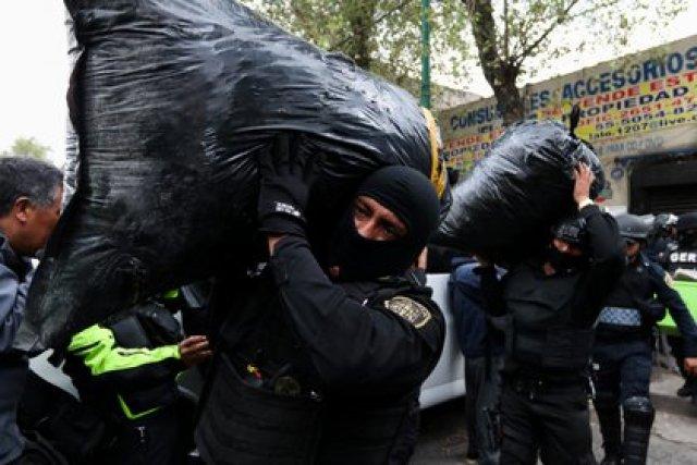 Operativos en la Ciudad de México (Foto: GALO CAÑAS /CUARTOSCURO)