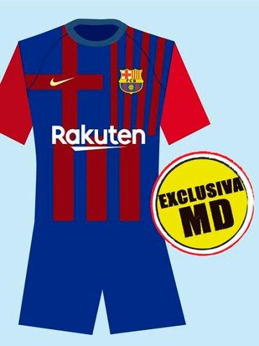 El diseño de la camiseta que usará el Barcelona en la temporada 2021/22