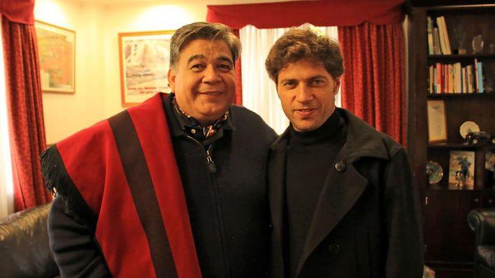 Mario Ishii y Axel Kicillof en José C. Paz