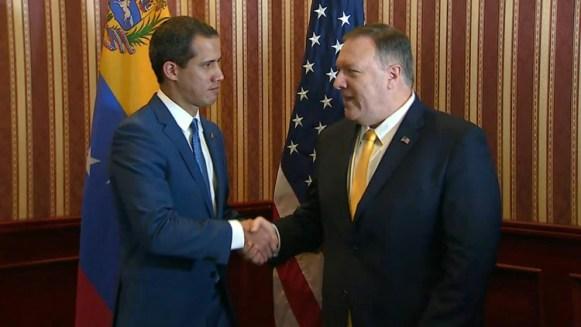 El jefe de la diplomacia estadounidense, Mike Pompeo, anticipó el lunes que habrá más apoyo al opositor venezolano Juan Guaidó en su lucha para sacar del poder a Nicolás Maduro