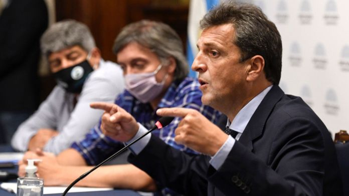 Sergio Massa recibió a Pablo Moyano y otros sindicalistas para hablar de Ganancias