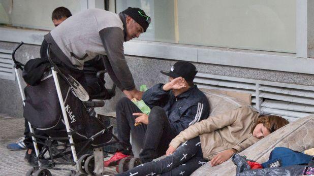 Personas en situación de calle, una escena que se multiplicó en los últimos tiempos