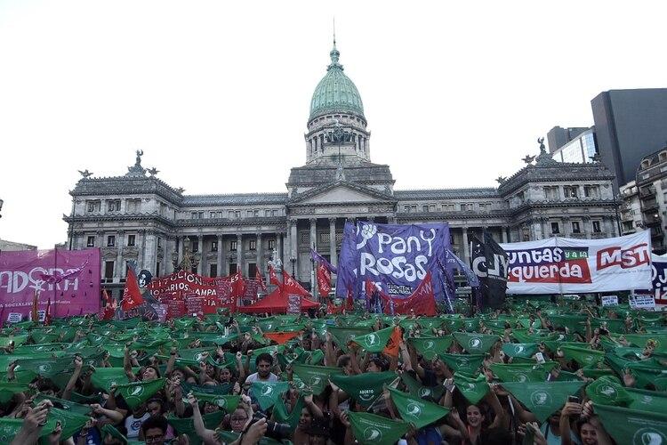 Alberto Fernández anunciará el primero de marzo ante el Congreso el proyecto del aborto legal (Nicolás Stulberg)