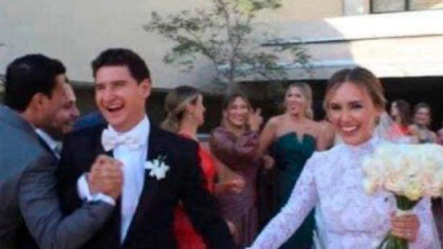 Claudia Torres Pavlovich se casó con Héctor Bravo Masón en una ceremonia con más de 1,400 invitados (Foto: Instagram@chicapicosa2)