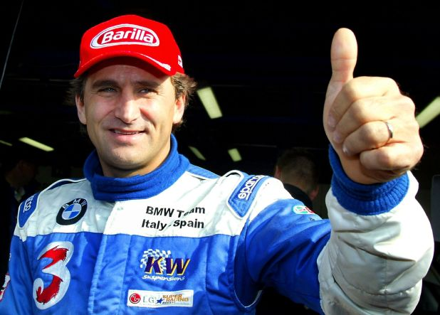 Alex Zanardi tiene 53 años y disputó cinco temporadas en la Fórmula 1 (REUTERS/Giampiero Sposito/File Photo)