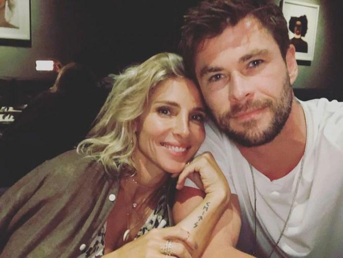 Chris Hemsworth y Elsa Pataky durante sus vacaciones en Australia. (Foto Instagram)
