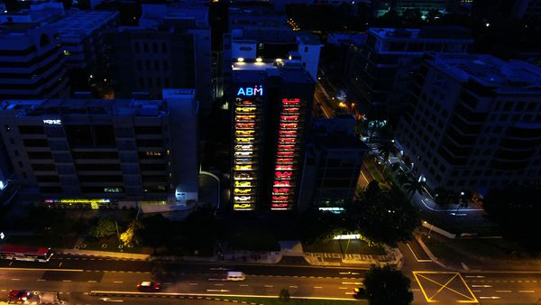 Un garage vertical en Singapur, solución en espacio urbano y eficiencia tecnológica