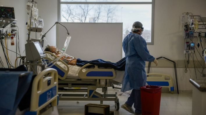 pacientes de coronavirus del Posadas