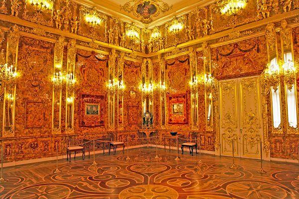 El salón conforma una construcción de una belleza inigualable