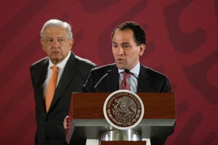 El pasado jueves, Arturo Herrera, titular de la SHCP confirmó que dio positivo a la enfermedad de coronavirus (Foto: Presidencia)