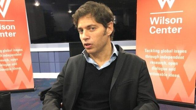 El ex ministro de Economía Axel Kicillof