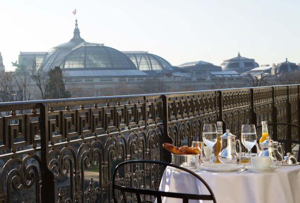 Mauricio Macri - Hotel La Reserve Paris