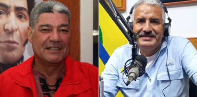 Eduardo Piñate y José Ramón Rivero