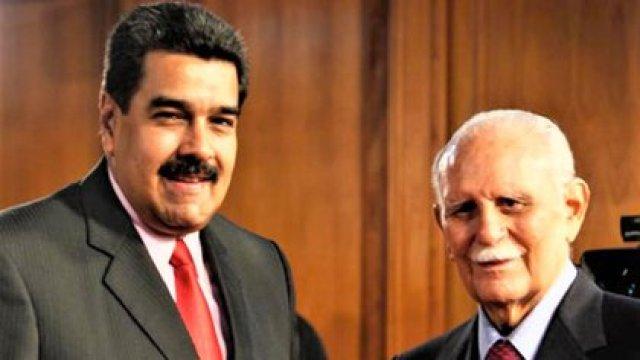 Nicolás Maduro y José Vicente Rangel