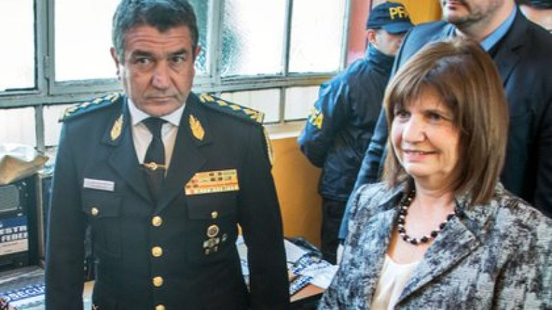 Patricia Bullrich y Nestor Roncaglia  (NA)