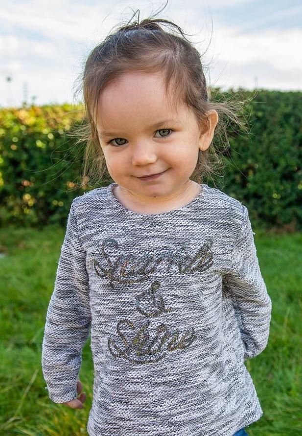 Los médicos vieron en una radiografía la batería de litio que la niña ingirió tan sólo 24 horas antes de la revisión médica. (Foto: especial)