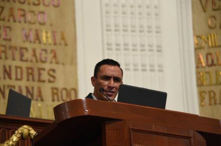 Diputado Miguel Ángel Álvarez Melo Foto: Tw/@Congreso_CdMex