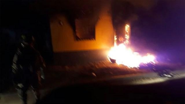 Incendiaron una comisaría en Honduras