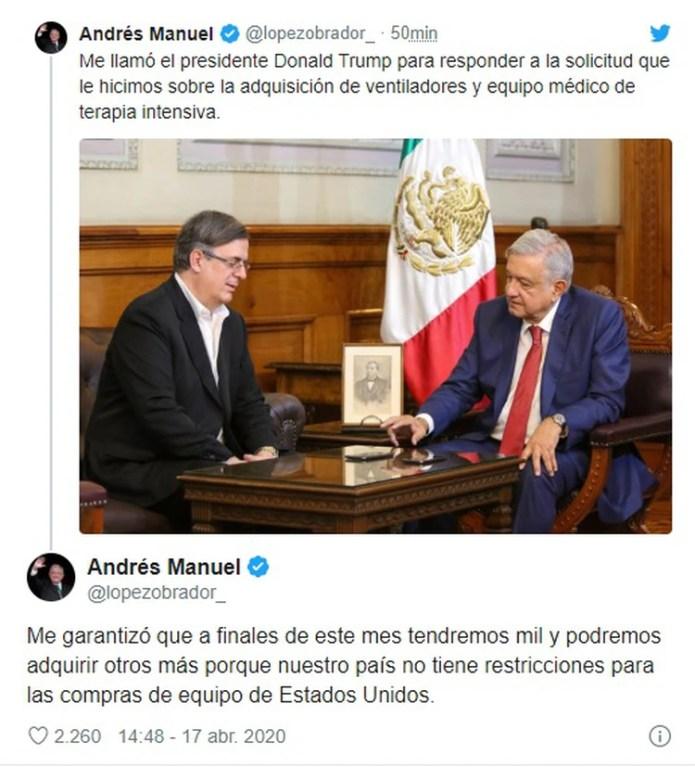 (Photo: Twitter @lopezobrador_)