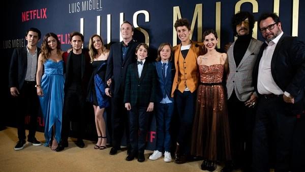La premiere de Luis Miguel en México