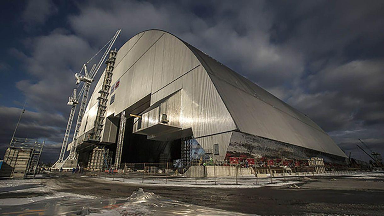 El Nuevo Sarcófago Seguro de la central nuclear de Chernobyl (EBRD)