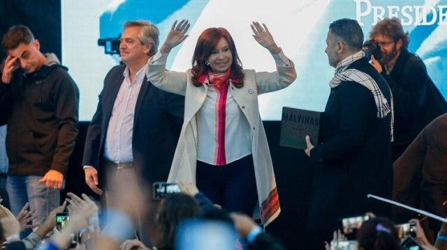 Alberto Fernández y Cristina Kirchner (Nicolás Aboaf)