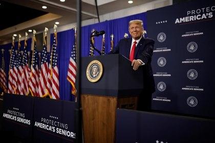 El presidente Donald Trump. REUTERS/Carlos Barria