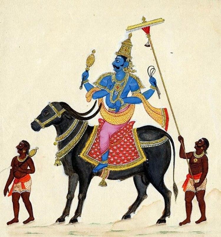 Yama, el diablo del hinduismo