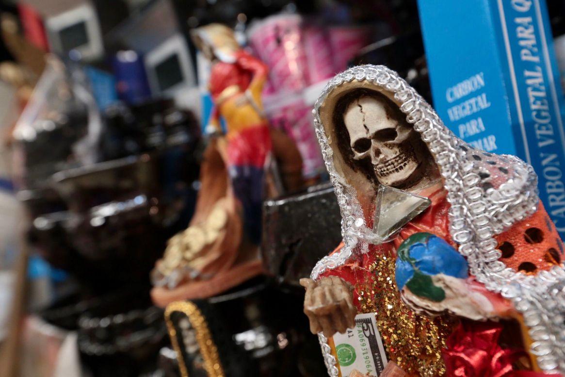 La Santa muerte es venerada por algunos capos de la droga (Foto: Artemio Guerra Baz /Cuartoscuro)