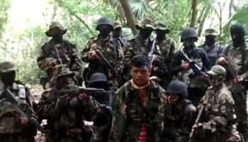Miembros del cártel mexicano Los Zetas