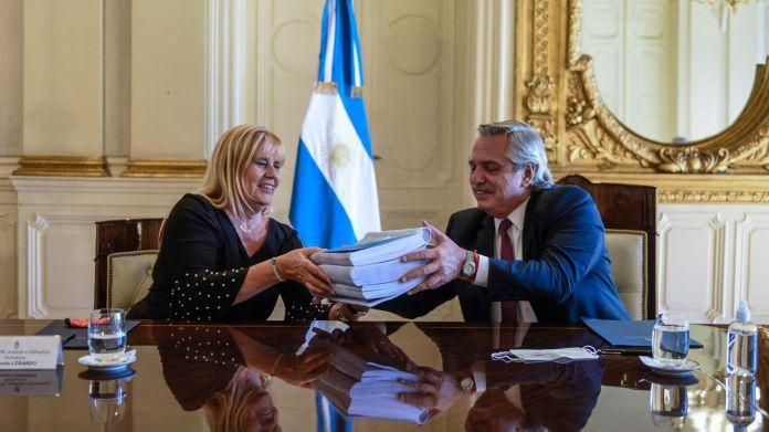Alberto Fernández con el Consejo Consultivo