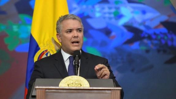 """Iván Duque pidió """"serenidad"""" en medio de las tensiones con Venezuela"""