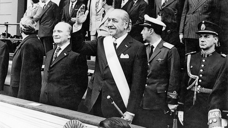 Cámpora fue presidente en 1973 y renunció para que Perón pudiera llegar al poder (CEDOC)