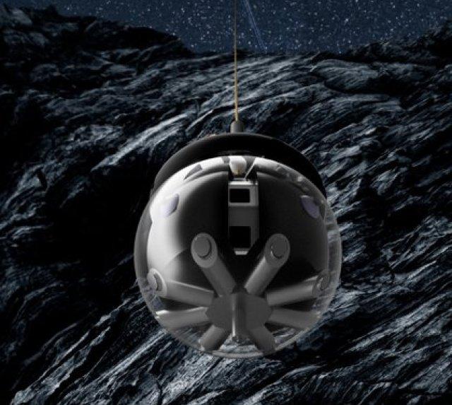 El robot Daedalus pensado para explorar cuevas lunares (Agencia Espacial Europea)