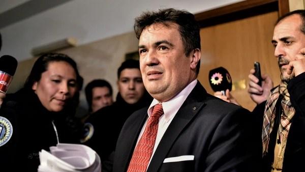 El fiscal Guillermo Marijuán (Adrián Escandar)