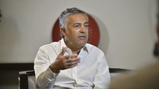 El presidente de la UCR, Alfredo Cornejo