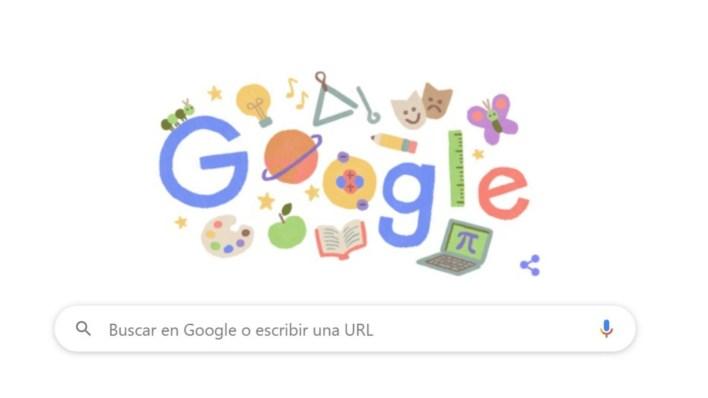 Google doodle docentes