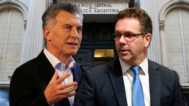 Macri instruyó al presidente del BCRA, Guido Sandleris a transmitir la satisfacción oficial por el impacto positivo de las medidas en el mercado