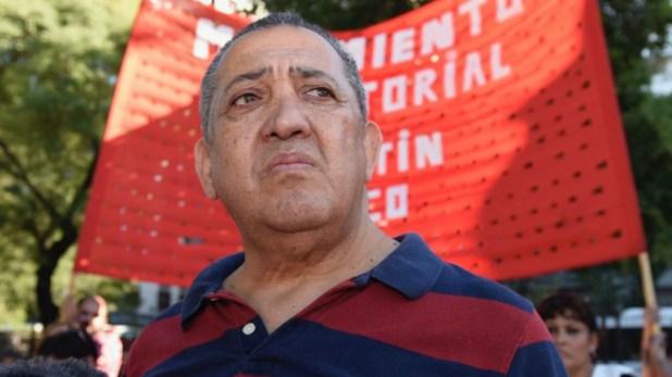 Luis D´Elia lleva más de 10 meses detenido en Ezeiza (foto de archivo)