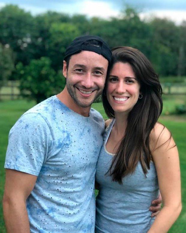 Luciano Pereyra y su novia Julia pasaron los meses de cuarentena en Luján
