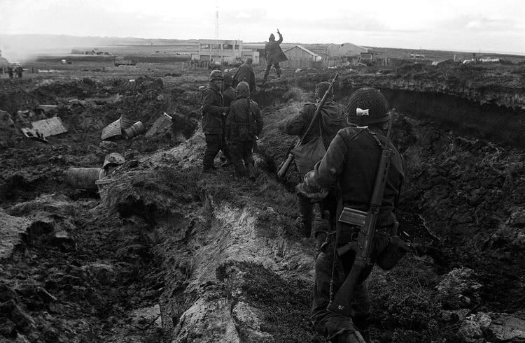La guerra dejó 649 muertos argentinos, 255 soldados británicos y 3 civiles(Foto: Telam / Román von Eckstein).