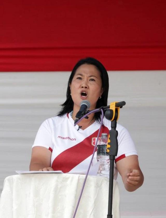 Keiko Fujimori (Reuters)