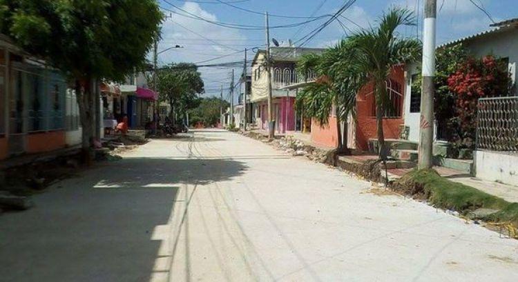 El barrio Villa María, en Soledad