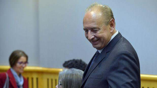 José Luis Manzano, ex ministro del Interior de Carlos Menem, es uno de los dueños de América TV y el canal de cable A24 (Gustavo Gavotti)