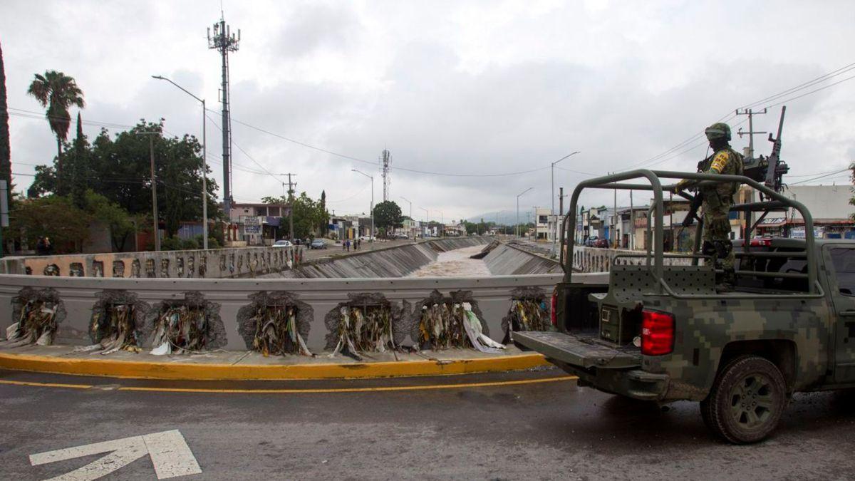 Personal del ejercito mexicano fue desplegado para ayudar a la población afectada por la tormenta (Foto: Cuartoscuro)